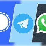 جنگ امنیت میان سه غول پیامرسان